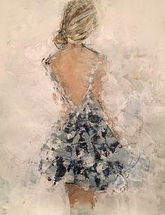 The Modern Art Movements – Buy Abstract Art Right Painting People, Figure Painting, Figurative Kunst, L'art Du Portrait, Illustration Mode, Acrylic Art, Painting Techniques, Female Art, Impressionism