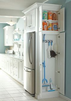 What an awesome idea for easy access storage! And I love how it makes use of…