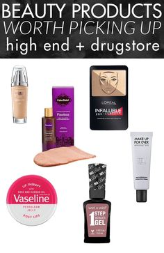 I'll have to pick these beauty products up! Love that they're a mix of drugstore and high end favorites!