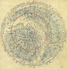 「天文分野之図」 部分