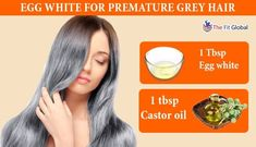 These egg white benefits are going to help you achieve a flawless skin and gorgeous hair. Know the egg white face masks here. Egg White For Hair, Egg White Mask, White Face Mask, Egg White Benefits, Egg Benefits, Premature Grey Hair, Egg Mask, Beauty Tips, Beauty Hacks