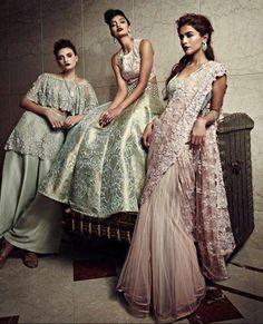 """Sitara"" by Payal Singhal Bridal Couture 2016 #indianfashion #indiancouture"