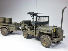 Jeep Willys - 1:35 by Daz