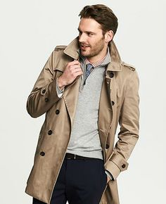 trench coats for men - banana republic