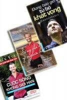 Bộ 3 sách của Nick: Đừng bao giờ từ bỏ khát vọng, Cuộc sống không giới hạn, Sống cho điều ý nghĩa hơn