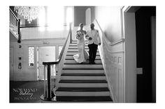 Father walking bride down the aisle. Classic black & white Chris & Siena's Wedding in The Berkshires | Kemble Inn | Lenox, MA
