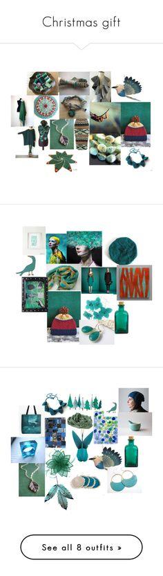 """Christmas gift"" by talma-vardi on Polyvore featuring Poesia, castro, Gucci, WALL, Meri Meri, Karen Walker, Kaliko, art, Orlebar Brown and Chicwish"