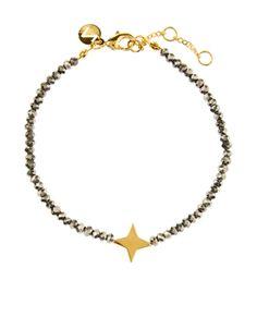 Constellation Armband mit Perlen | Grau | Accessorize