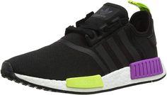 Billig Herren Adidas Originals NMD High Top Sneaker Gelb