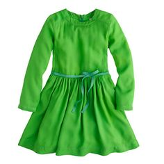 J.Crew - Girls' Maan™ maracon dress.  dying over that color