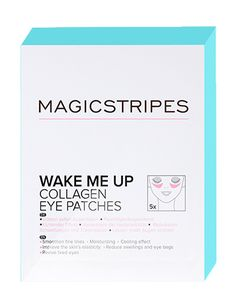 Wake Me Up Collagen Eye Patches (5) by magicstripes