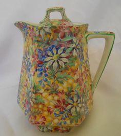 Royal Winton Wild Flowers Chintz, eBay: debscornucopia  SIMPLY GORGEOUS!