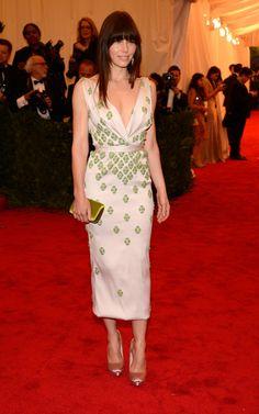 Jessica Biel in Prada | not so stunning for Met Gala, MET GALA, bold it