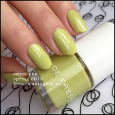 Joe Fresh Sweet Pea  - Spring 2015. Click on thru for collection swatches!