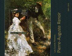 """TG 14306 bPierre-Auguste Renoir  (""""The Walk"""" 1870)"""
