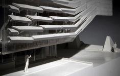 Gates Hall - Model 05 | Morphopedia | Morphosis Architects