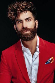 12 Best Men's Hairstyles To Look Super Hot 2019 Trendy Mens Hairstyles, Haircuts For Men, Hairstyles Haircuts, Black Hairstyles, Medium Hair Styles, Curly Hair Styles, Black Curly Hair, Moustaches, Long Hair Cuts