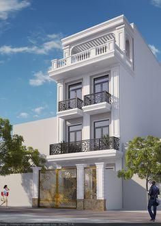 Yes Flat House Design, Bungalow House Design, House Front Design, Modern House Design, Indian House Plans, Victorian Terrace House, House Design Pictures, Architecture Building Design, Townhouse Designs