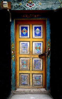 Ladakh door