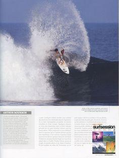 Surf Session - French Magazine - Arthur Bourbon - Surf Team - Aug12