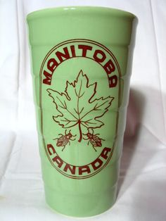 Medicine Hat Potteries Hycroft Special Order Honey Container. This piece was made by special order by the Medicine Hat pottery company Hycroft in the old Medalta plant. This container probably dates to the 1970's.