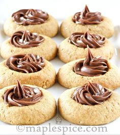 Chocolate filled cookie