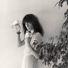 Patti Smith. Foto-portada del álbum Wave, 1979 via Patti Smith Picture Gallery © Robert Mapplethorpe