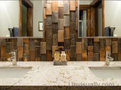 How to Build a Frame Around a Bathroom Mirror Bath Pictures, Bathroom Pictures, Bathroom Storage Solutions, Small Bathroom Storage, Costa Rica, Build A Frame, Wooden Bathroom, Wood Patterns, Rustic Industrial