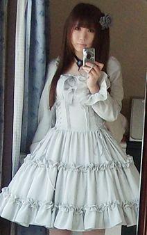 Classic Lolita in light blue
