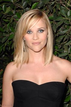 in love with Reese's hair. thinking about this cut for summer.