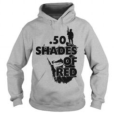 I Love 50 Shades Of Red veteran solider american military Shirts & Tees
