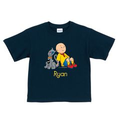 Caillou Gilbert Navy T-Shirt | Ty's Toy Box