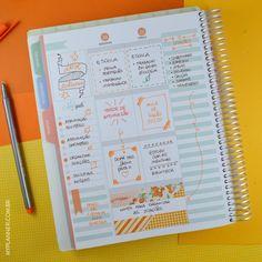 Utilize os dias da semana do My Planner para organizar suas tarefas da vida, sejam pessoais ou dos estudos. Utilize os Dots para marcar os dias… Tudo fica fácil e prático! Aproveite o espaço My Goals para escrever as tarefas a cumprir, e vá marcando assim que as fizer.