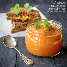 chutney z rabarbaru i pomidorów