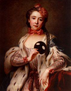 Young lady in Turkish costume, c1740 Antoine Coypel