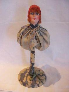 boudoir doll hat stands -