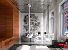 White Street Loft by Mackiewicz Maciek