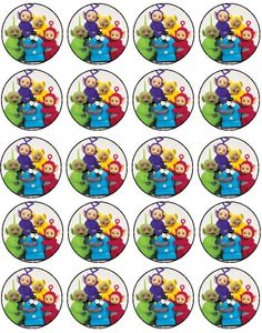 . Teletubbies Cake, Baby E, Printable Stickers, Party Themes, Party Ideas, 2nd Birthday Parties, Party Printables, Kids And Parenting, Cupcake Fillings