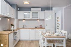 Kuchnia styl Prowansalski - zdjęcie od Justyna Lewicka Design - Kuchnia - Styl…