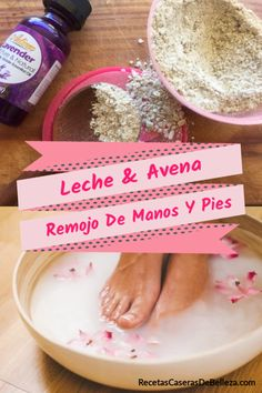 For soft, smooth hands and feet, try this soothing milk & oats hand and foot soak! Silky smooth hands and feet after just one use! Hand Soak, Diy Foot Soak, Foot Soaks, Foot Soak Recipe, Vanilla Essential Oil, Essential Oils, Cracked Skin, Hand Care, Homemade Skin Care