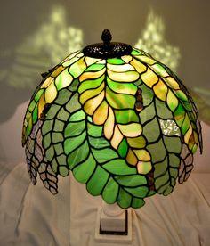 """Tiffany lampa \""""Zelená\"""""""
