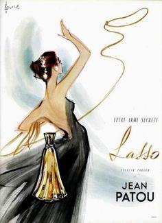 Your secret weapon: Lasso by Jean Patou.
