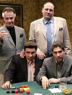 SOPRANOS - one of the best shows ever on the tube.