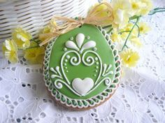 Gingerbread Easter Egg cookie