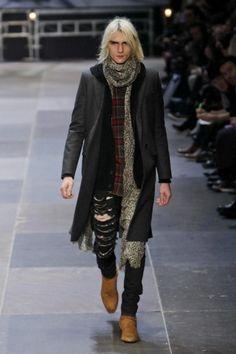 Saint Laurent Paris @ Paris Menswear A/W 2013 - SHOWstudio - The Home of Fashion Film