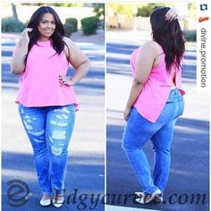 #Repost @divine.promotion with @repostapp  STOP AIMING FOR THAT STEREOTYPICAL SIZE TWO AND EMBRACE THE OUTER YOU WITH  _ @EDGYCURVES @EDGYCURVES  @EDGYCURVES _ PLUS SIZE CLOTHING RANGING FROM 1X TO 3X THATS SURE TO CULTIVATE YOUR CURVES!! FOR A LIMITED TIME GET 20% OFF WITH FREE SHIPPING!! _ FOLLOW  CLICK BLUE LINK IN THE BIO OR TYPE IN YOUR BROWSER  WWW.EDGYCURVES.COM TO VIEW MORE ITEMS AND PURCHASE!! AND EMAIL INFO@EDGYCURVES.COM FOR ANY QUESTIONS OR CONCERNS! #fashion #style #stylish…