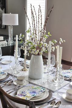 Spring tablescape tips.
