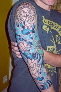 Image result for japanese half sleeve tattoos