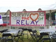 Organizers counted more than 50 teams and 505 participants who walked the track  during VCU's Relay for Life event