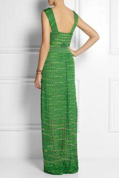M Missoni   Crochet-knit cotton-blend maxi dress   NET-A-PORTER.COM